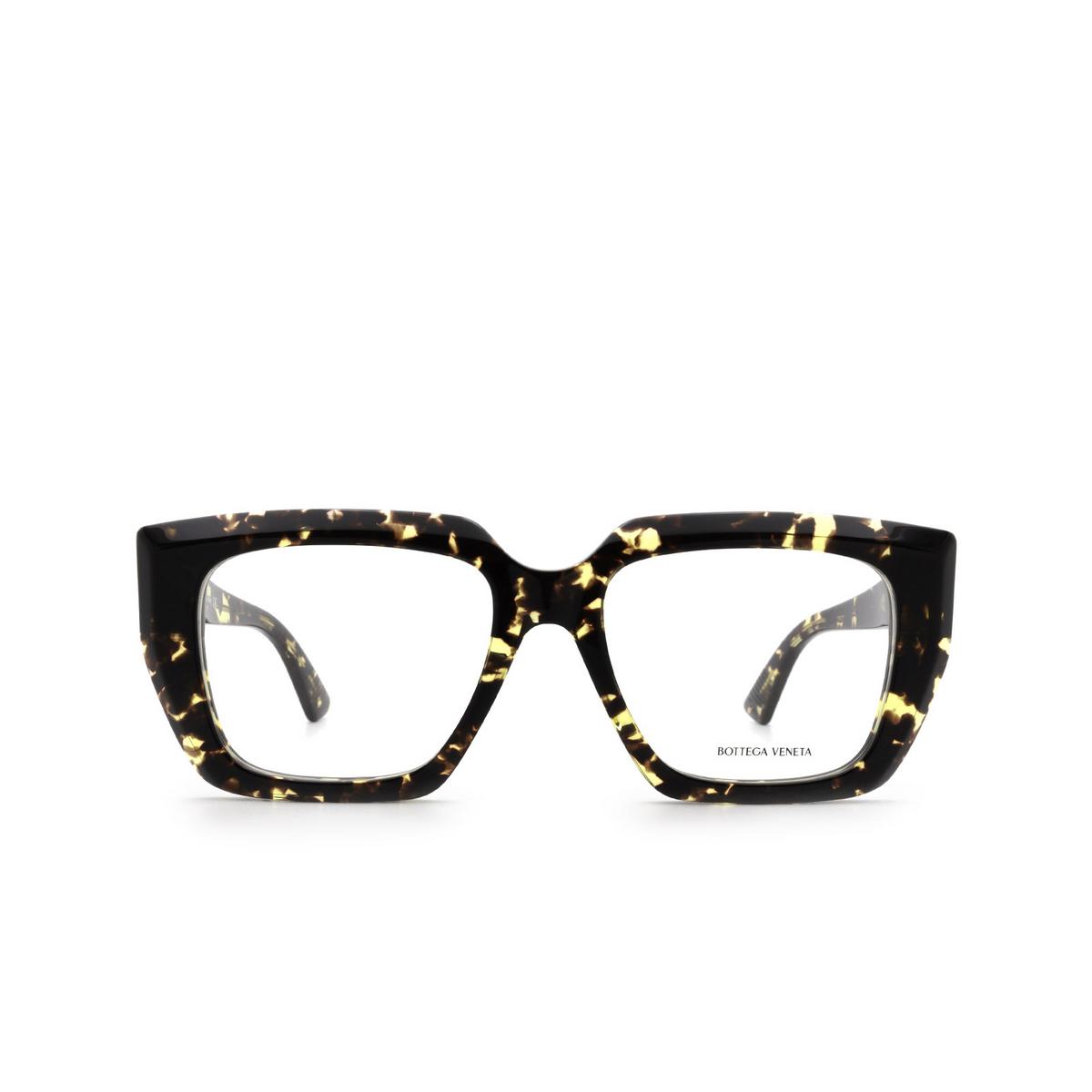 Bottega Veneta® Square Eyeglasses: BV1032O color Havana 002.