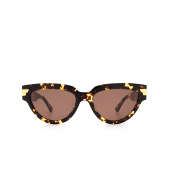 Bottega Veneta® Cat-eye Sunglasses: BV1035S color Havana 002.