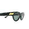 Bottega Veneta® Cat-eye Sunglasses: BV1035S color Green 004 - product thumbnail 3/3.