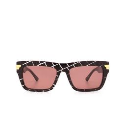 Bottega Veneta® Sunglasses: BV1058S color Burgundy 003.