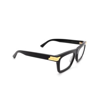 Bottega Veneta® Square Eyeglasses: BV1059O color Black 001.