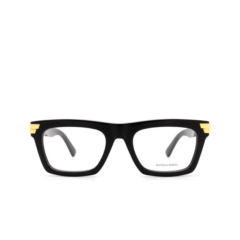 Bottega Veneta® Square Eyeglasses: BV1059O color Black 001.