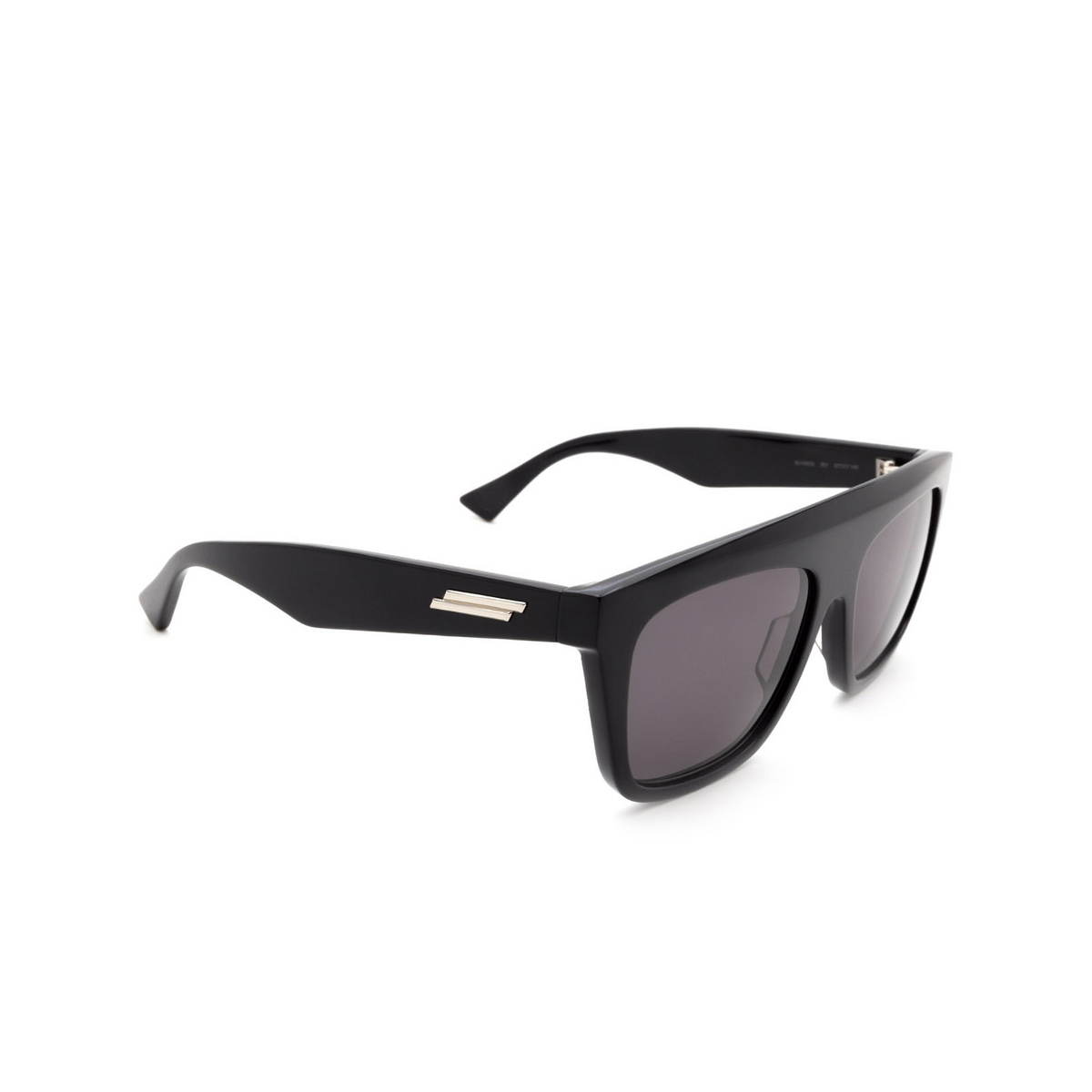 Bottega Veneta® Square Sunglasses: BV1060S color Black 001.