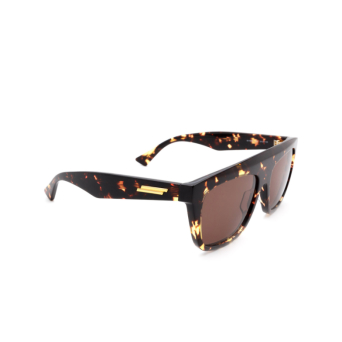 Bottega Veneta® Square Sunglasses: BV1060S color Havana 002.