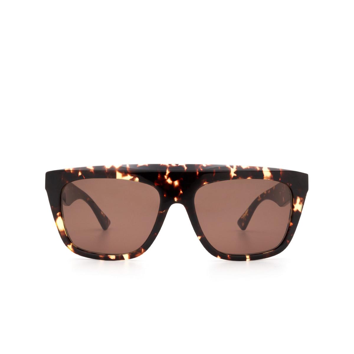 Bottega Veneta® Square Sunglasses: BV1060S color Havana 002.