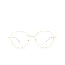 Bottega Veneta® Eyeglasses: BV1076OA color Gold 002.