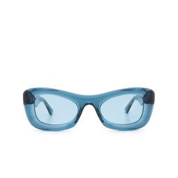 Bottega Veneta® Sunglasses: BV1088S color Blue 001.