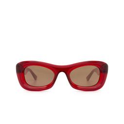 Bottega Veneta® Sunglasses: BV1088S color Burgundy 007.