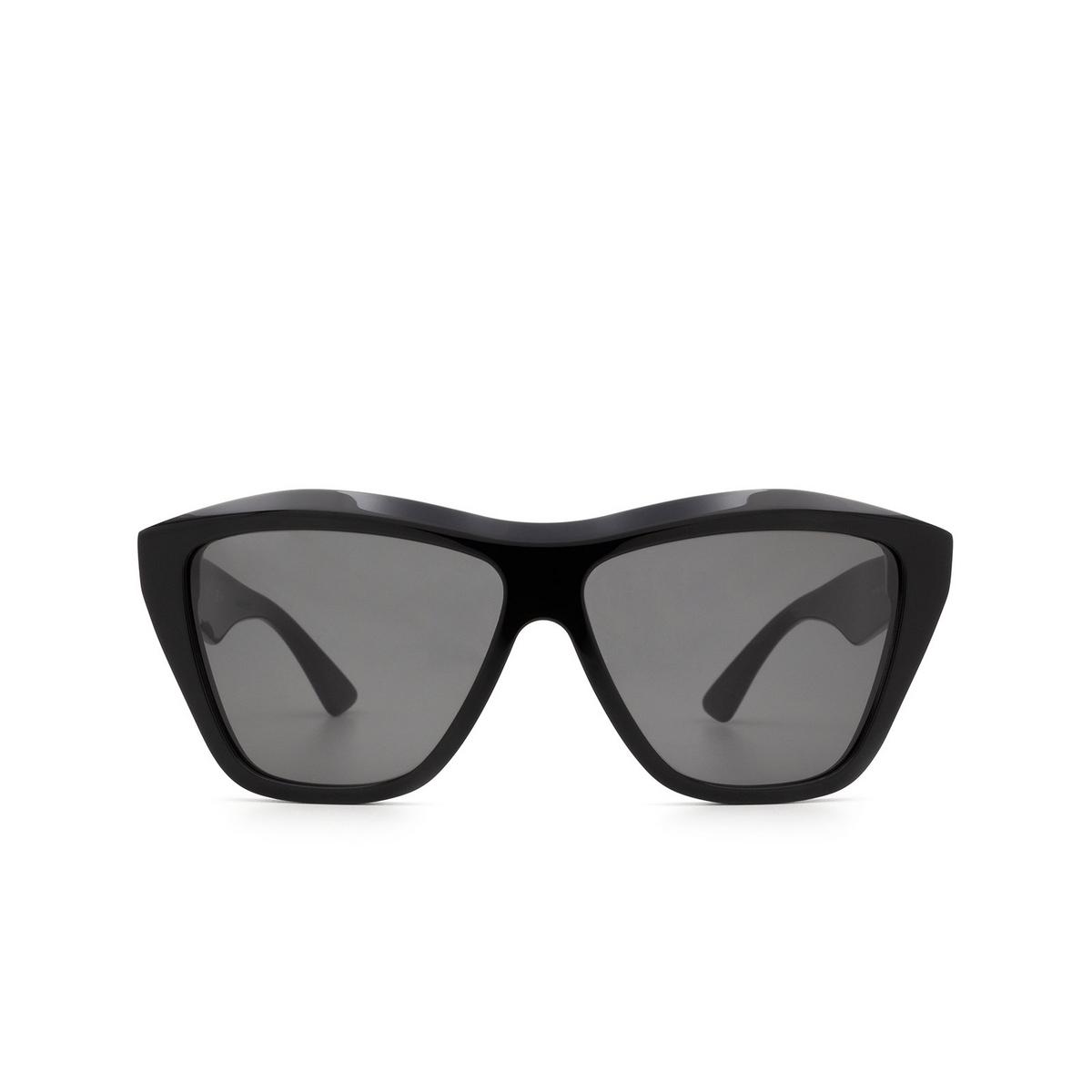 Bottega Veneta® Square Sunglasses: BV1092S color Black 001 - front view.