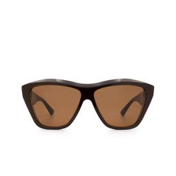 Bottega Veneta® Sunglasses: BV1092S color Brown 004.