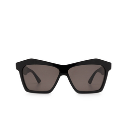 Bottega Veneta® Irregular Sunglasses: BV1093S color Black 001.