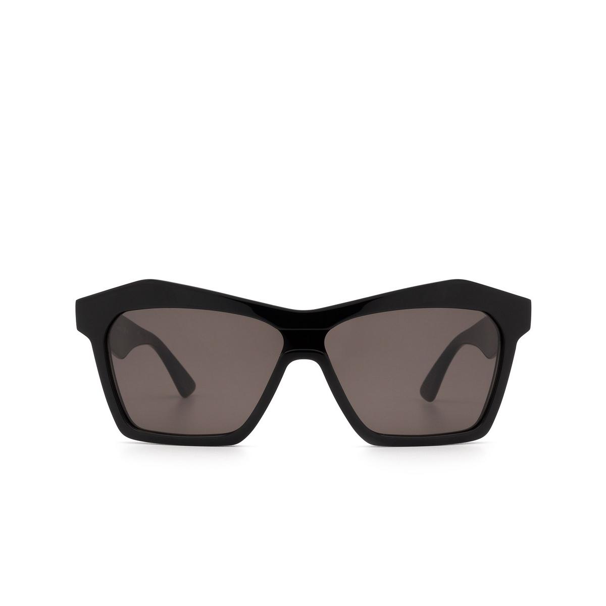 Bottega Veneta® Irregular Sunglasses: BV1093S color Black 001 - front view.