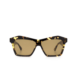 Bottega Veneta® Irregular Sunglasses: BV1093S color Havana 002.