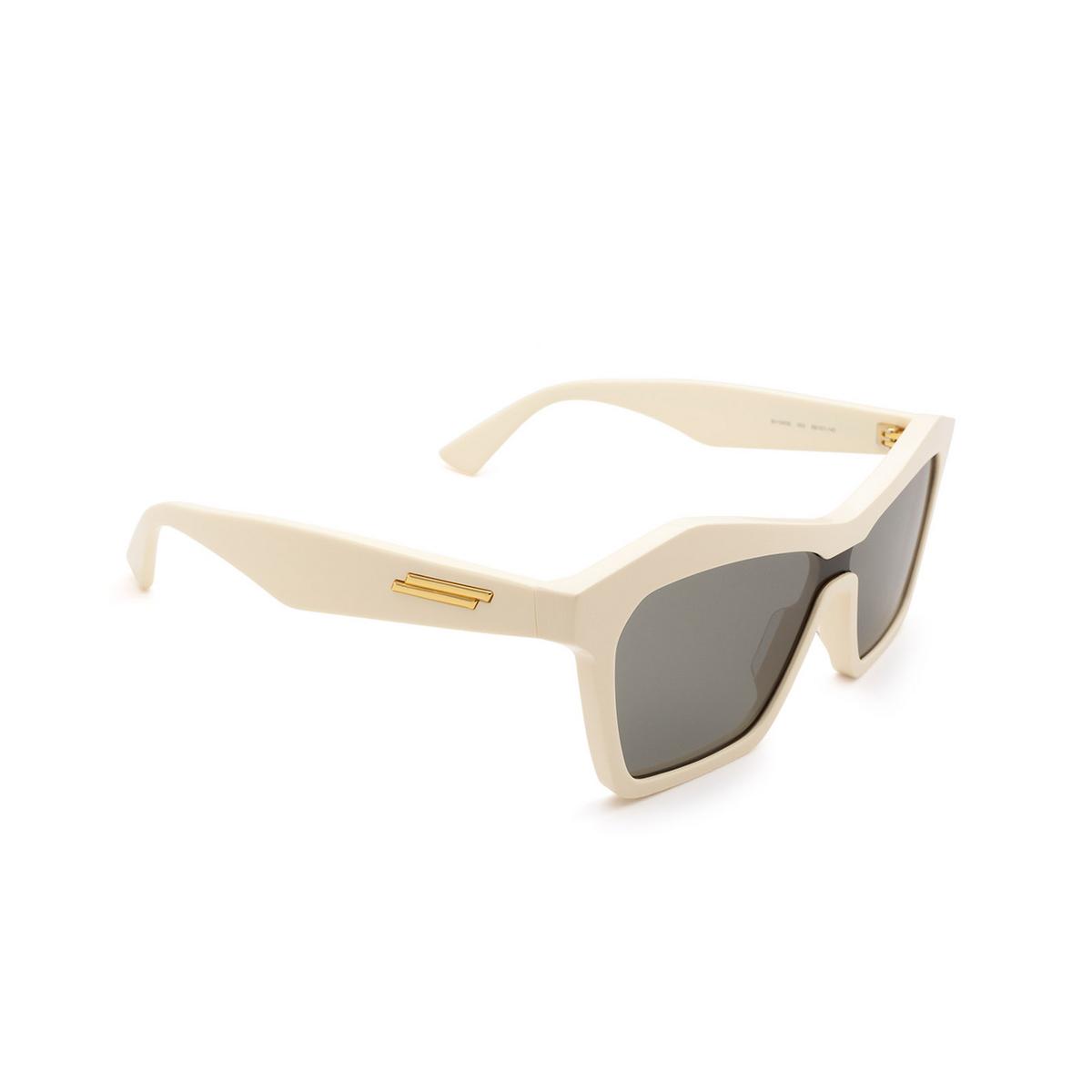 Bottega Veneta® Irregular Sunglasses: BV1093S color Ivory 003 - 2/3.