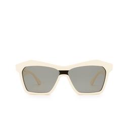 Bottega Veneta® Irregular Sunglasses: BV1093S color Ivory 003.