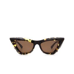 Bottega Veneta® Sunglasses: BV1101S color Havana 002.