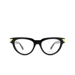 Bottega Veneta® Eyeglasses: BV1106O color Black 001.