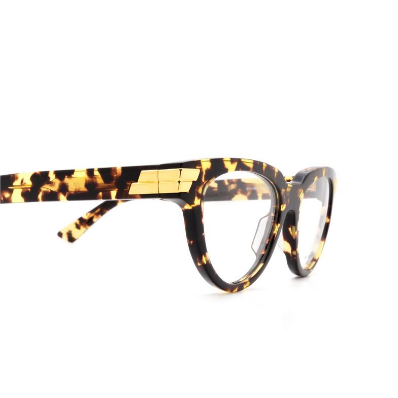 Bottega Veneta® Cat-eye Eyeglasses: BV1106O color Havana 002.