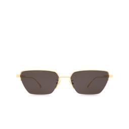 Bottega Veneta® Sunglasses: BV1107S color Gold 004.