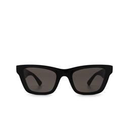 Bottega Veneta® Cat-eye Sunglasses: BV1119S color Black 001.