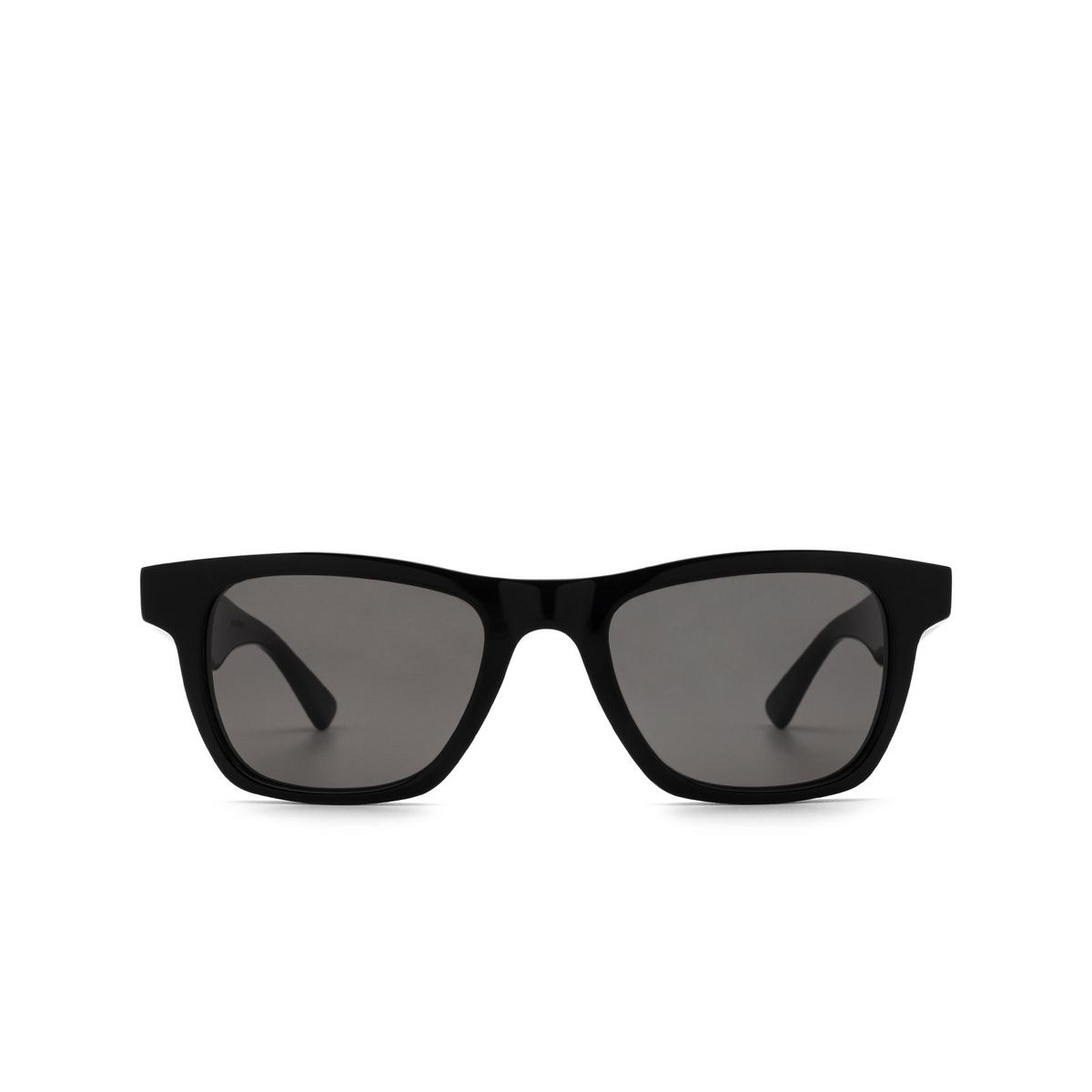 Bottega Veneta® Square Sunglasses: BV1120S color Black 001 - front view.