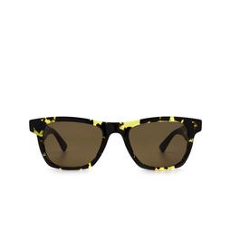Bottega Veneta® Square Sunglasses: BV1120S color Havana 002.