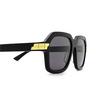 Bottega Veneta® Square Sunglasses: BV1123S color Black 001 - product thumbnail 3/3.