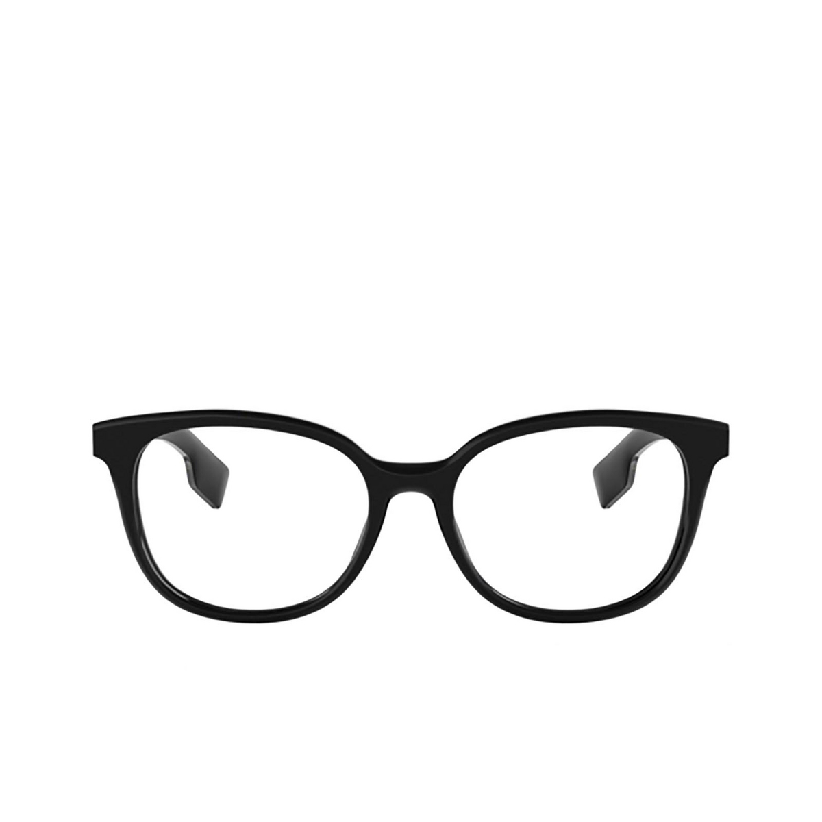 Burberry® Square Eyeglasses: BE2291 color Black 3758 - front view.