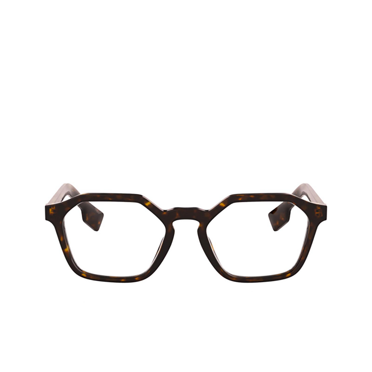 Burberry® Irregular Eyeglasses: BE2294 color Dark Havana 3002 - front view.