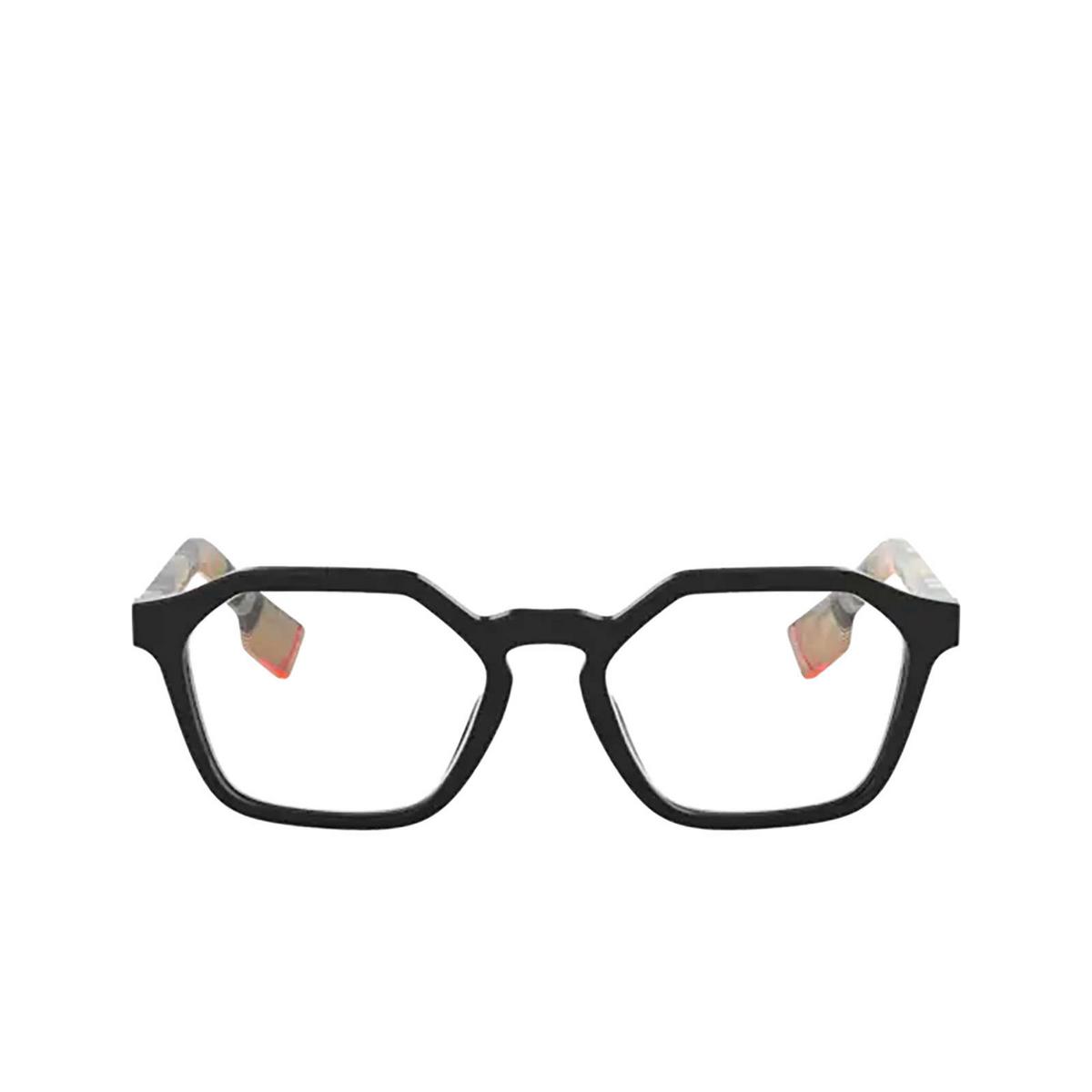 Burberry® Irregular Eyeglasses: BE2294 color Black 3757 - front view.