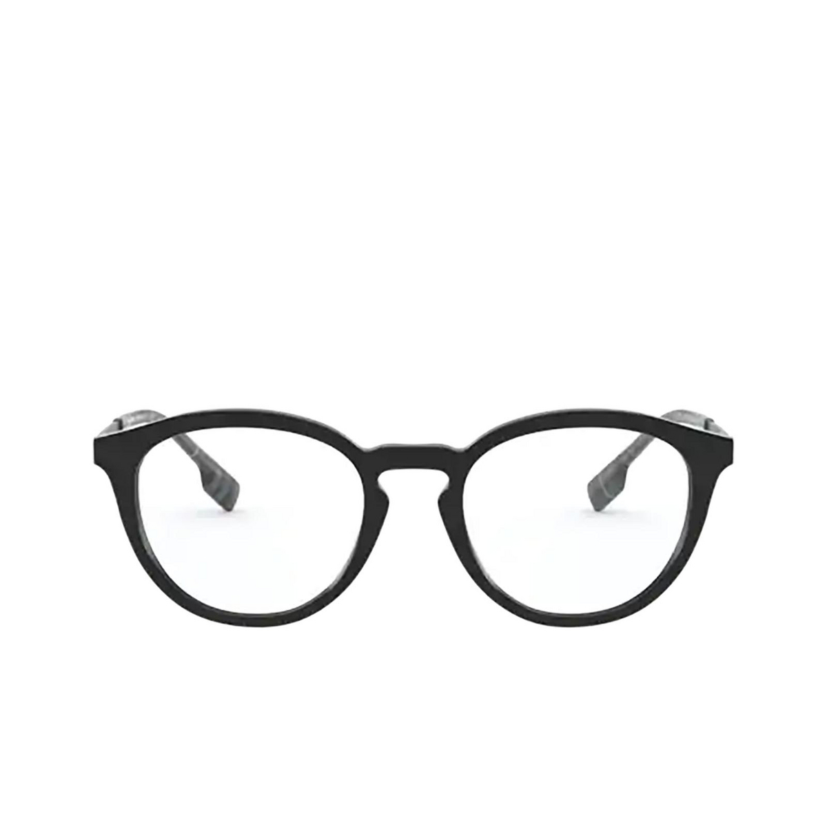 Burberry® Round Eyeglasses: Keats BE2321 color Black 3001 - front view.
