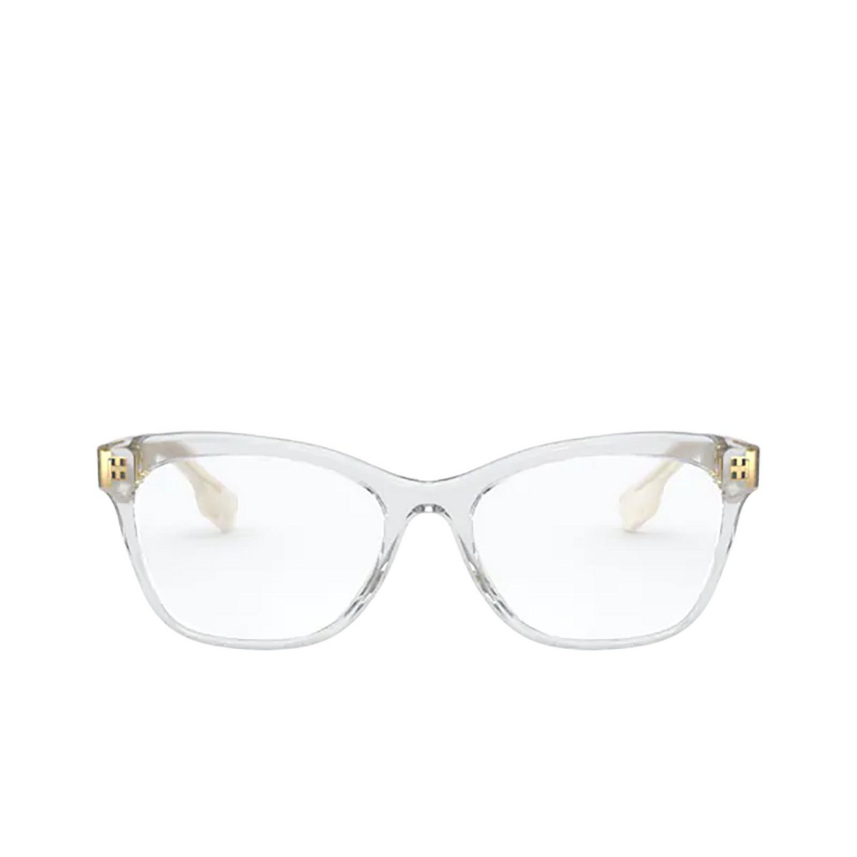 Burberry® Square Eyeglasses: Mildred BE2323 color Transparent 3896 - front view.