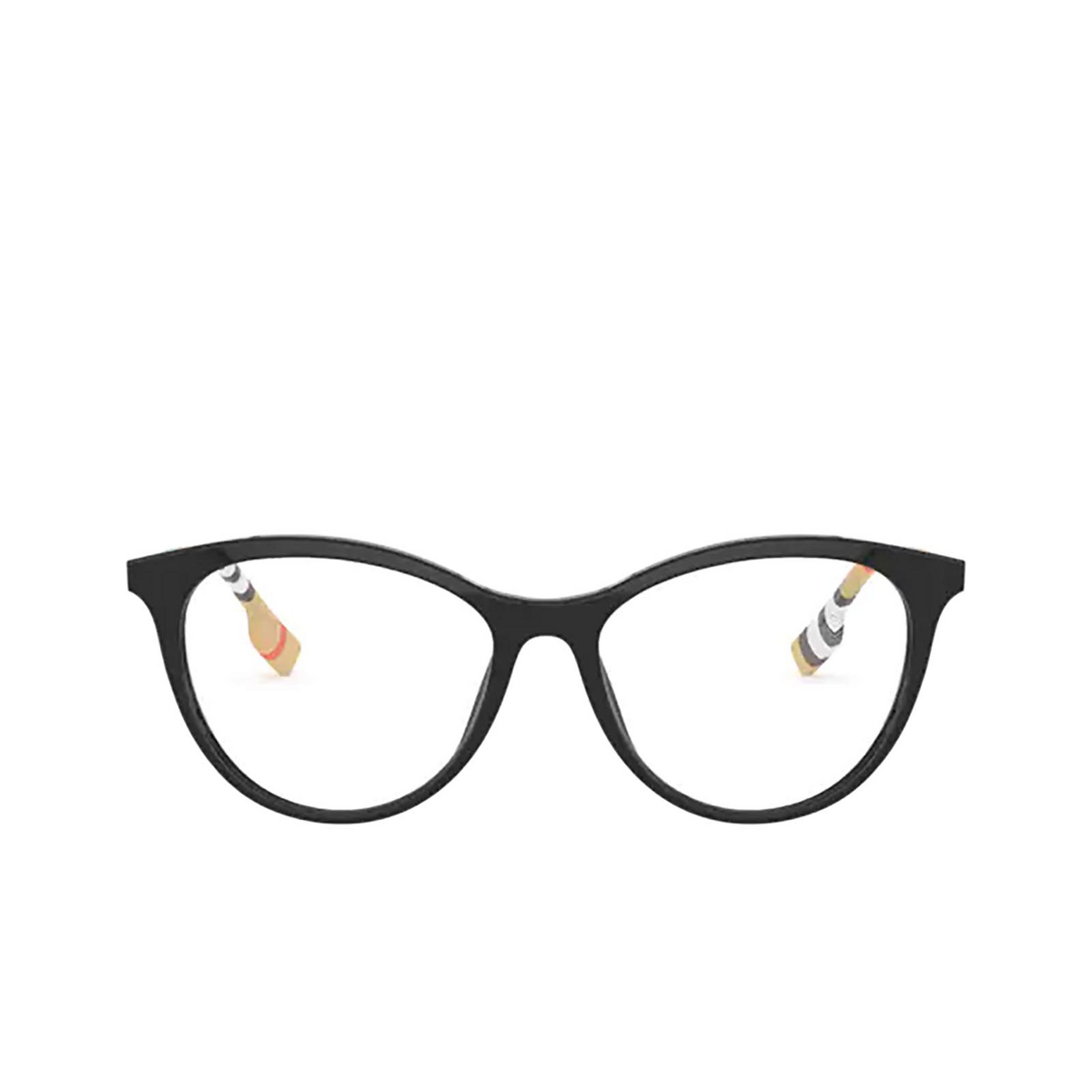 Burberry® Butterfly Eyeglasses: Aiden BE2325 color Black 3853 - front view.