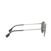 Burberry® Round Sunglasses: BE3109 color Gunmetal / Matte Green 100371 - product thumbnail 3/3.
