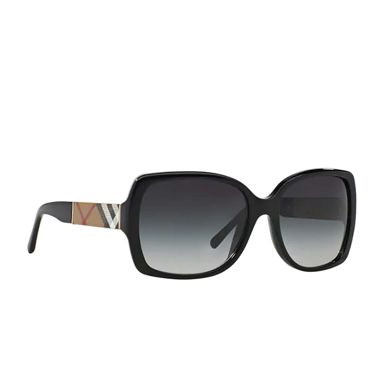 Burberry® Square Sunglasses: BE4160 color Black 34338G.