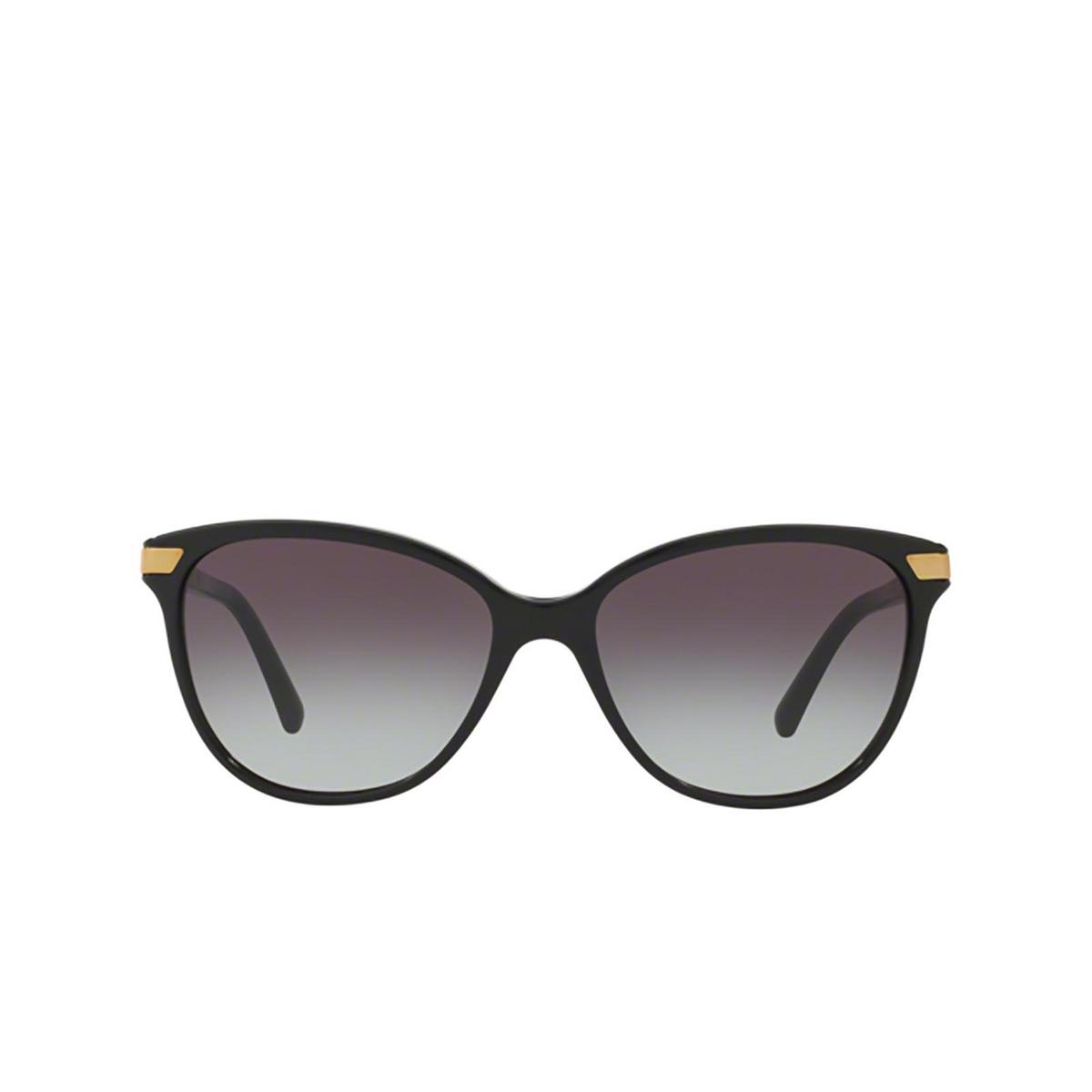 Burberry® Cat-eye Sunglasses: BE4216 color Black 30018G.