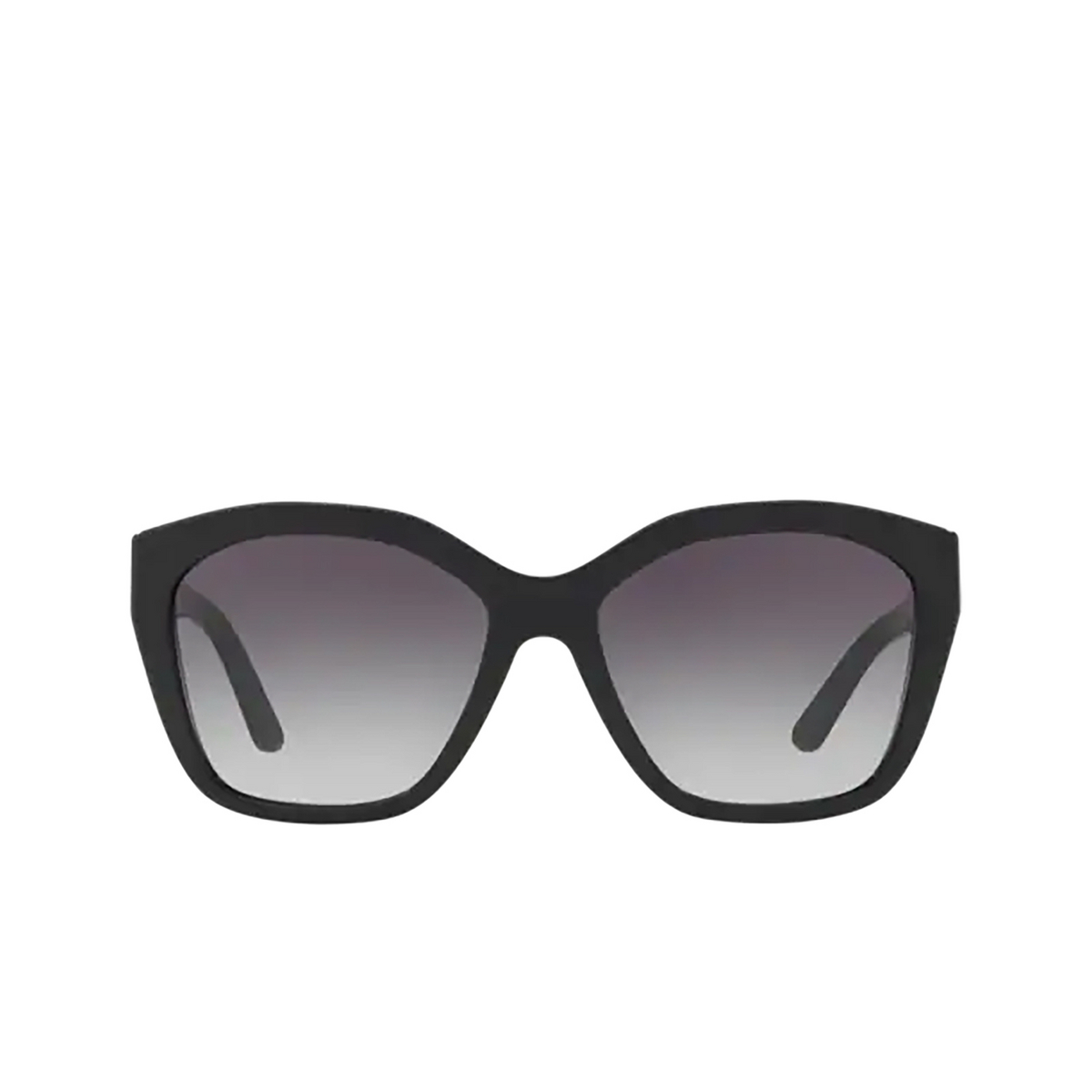 Burberry® Irregular Sunglasses: BE4261 color Black 30018G - front view.