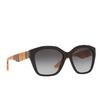 Burberry® Irregular Sunglasses: BE4261 color Black 37578G - product thumbnail 2/3.
