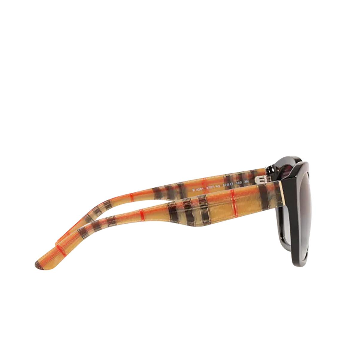 Burberry® Irregular Sunglasses: BE4261 color Black 37578G - 3/3.