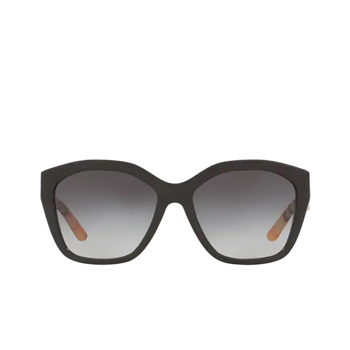 Burberry® Irregular Sunglasses: BE4261 color Black 37578G - front view.