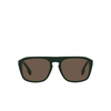Burberry® Square Sunglasses: BE4286 color Green 392773 - product thumbnail 1/3.