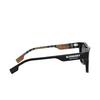 Burberry® Square Sunglasses: BE4293 color Black 377381 - product thumbnail 3/3.