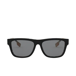 Burberry® Square Sunglasses: BE4293 color Top Black On Vintage Check 380687.