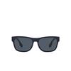 Burberry® Square Sunglasses: BE4309 color Matte Black 346487 - product thumbnail 1/3.