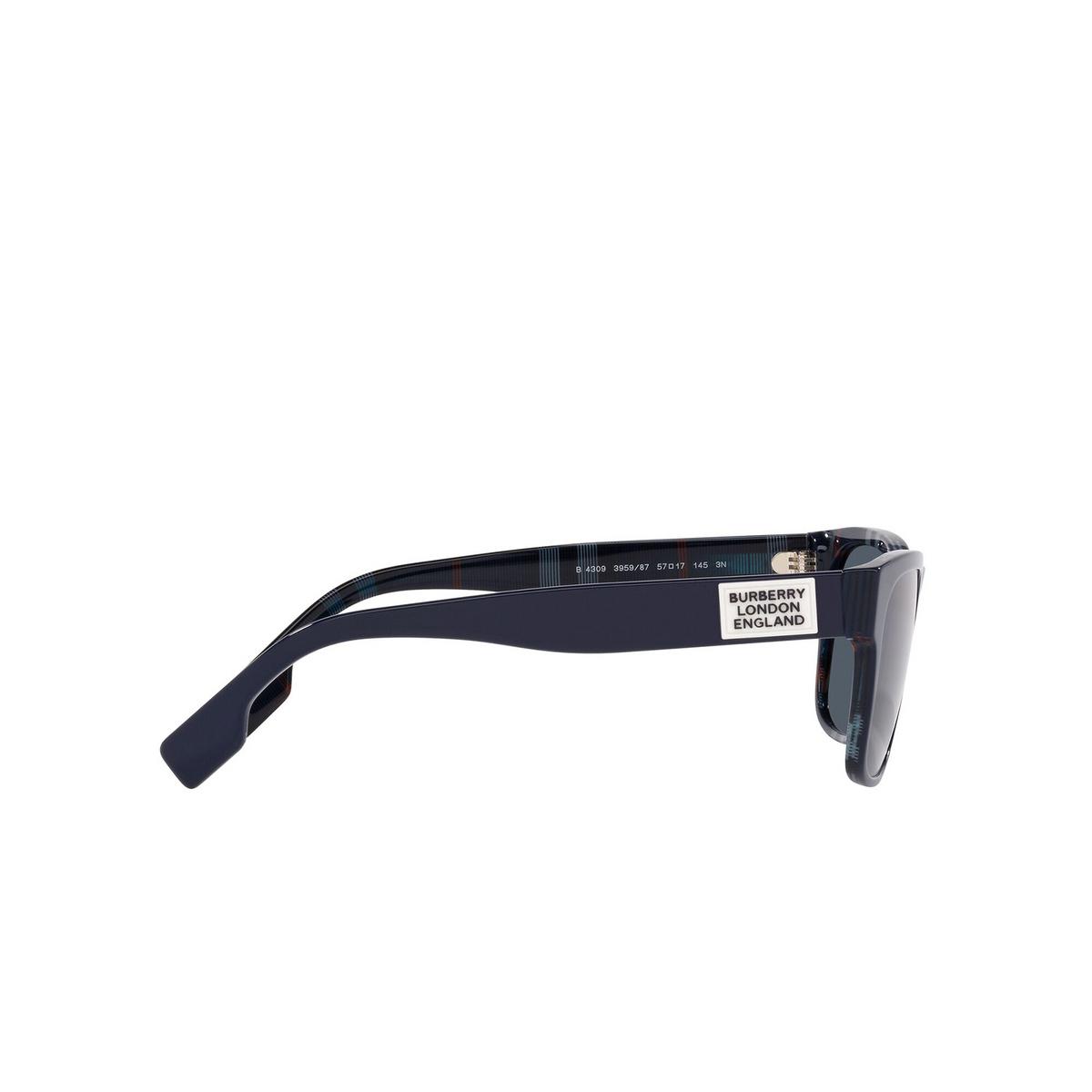 Burberry® Square Sunglasses: BE4309 color Matte Black 346487 - 3/3.