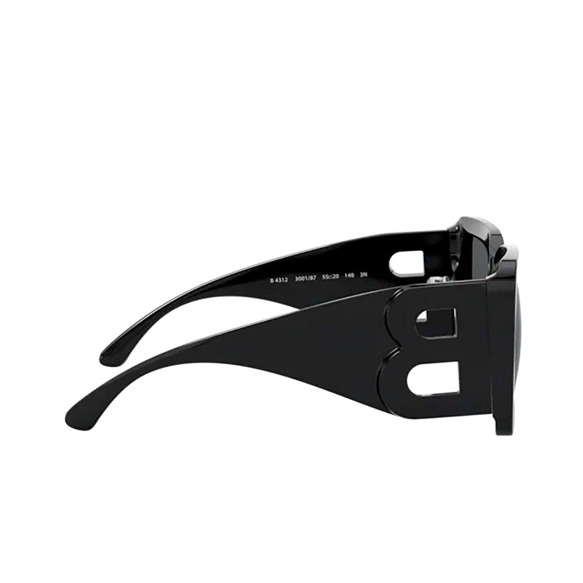 Burberry® Square Sunglasses: BE4312 color Black 300187 - 3/3.