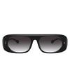 Burberry® Square Sunglasses: BE4322 color Black 38788G - product thumbnail 1/3.