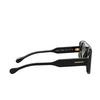 Burberry® Square Sunglasses: BE4322 color Black 38788G - product thumbnail 3/3.