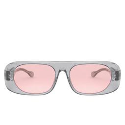 Burberry® Square Sunglasses: BE4322 color Transparent Grey 3882/5.