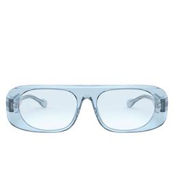 Burberry® Square Sunglasses: BE4322 color Transparent Azure 388372.
